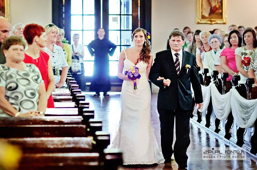 fotografia ślubna klasztor karmelitów bosych poznań
