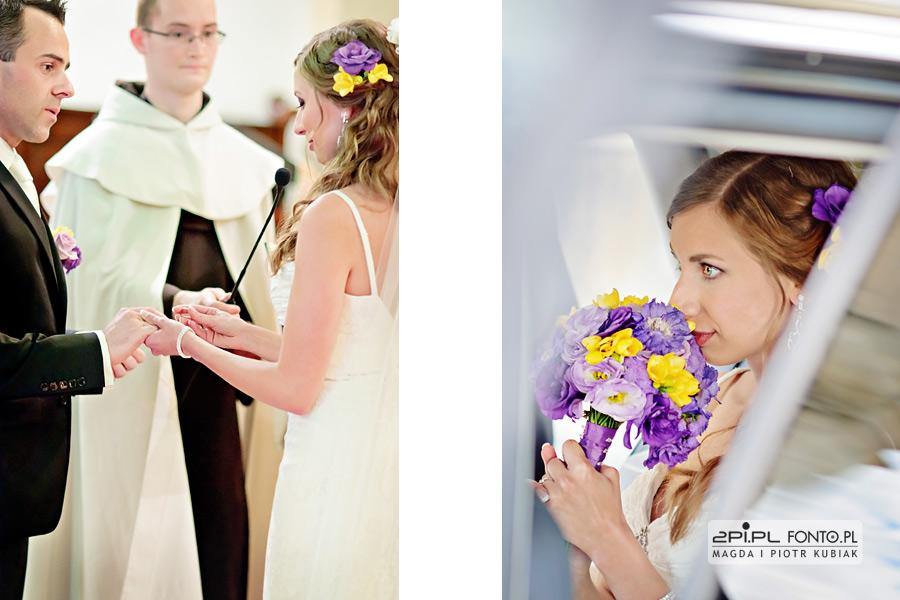 fotografia ślubna karmelitów bosych poznań