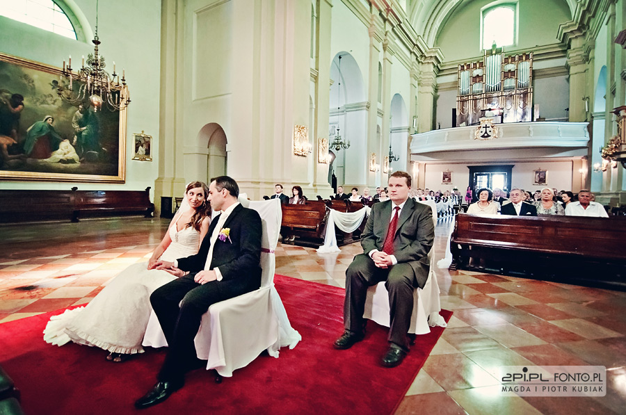 zdjęcia ślubne karmelitów bosych poznań